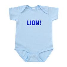 Lion-Akz blue Body Suit