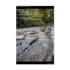 """Clean Water Rights Poster (11 by 17"""")"""