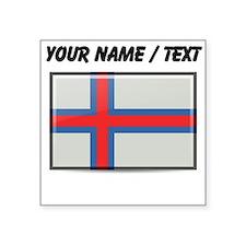 Faroe Islands Flag (Custom) Sticker