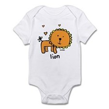 Resden Cute Lion Infant Bodysuit