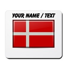 Denmark Flag (Custom) Mousepad