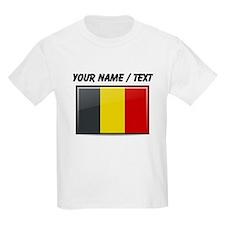 Belgium Flag (Custom) T-Shirt