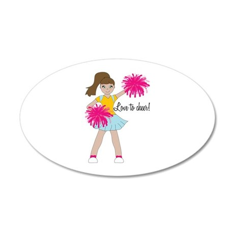 Love To Cheer! Wall Decal