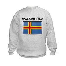 Aland Islands Flag (Custom) Sweatshirt