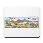 Just One Thing After Another Dinosaur Mousepad
