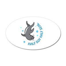 HALF BOY HALF SEAL Wall Decal