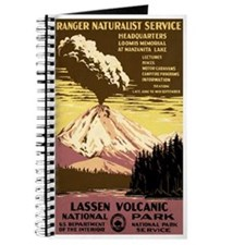 1930s Vintage Lassen Volcanic National Park Journa