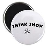 Think Snow Magnet