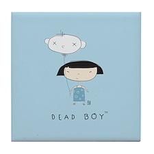 Funny Dead boys Tile Coaster