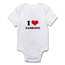 I Love Gambling Infant Bodysuit