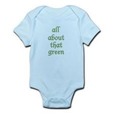 Green Is The New Black Infant Body Suit