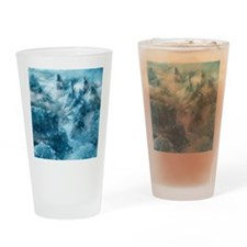 Mountain Scape Drinking Glass
