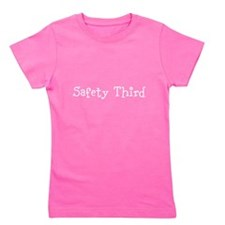 Cute Safety third Girl's Tee