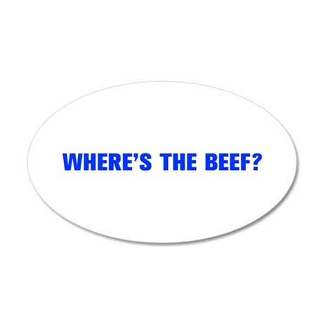 Where s the Beef-Akz blue Wall Decal