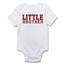 little brother varsity Infant Bodysuit