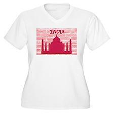India Graffiti Plus Size T-Shirt