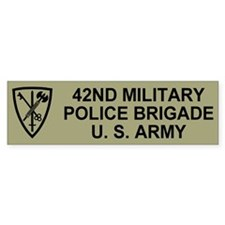 42nd MP Brigade <BR>Bumper Bumper Sticker