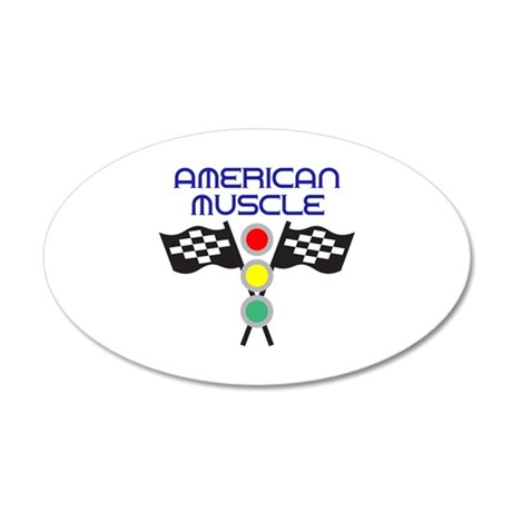 AMERICAN MUSCLE Wall Decal