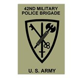 42nd MP Brigade <BR>Postcard 8 Pack