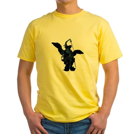 Powerful Angel Yellow T-Shirt
