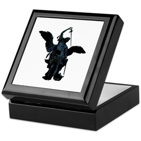 Powerful Angel Keepsake Box
