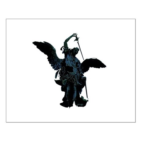 Powerful Angel Small Poster