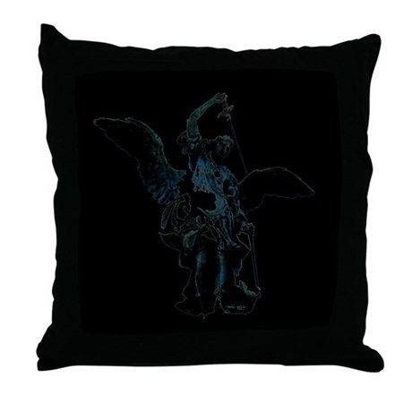 Powerful Angel Throw Pillow