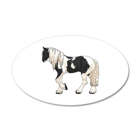 LARGER GYPSY VANNER Wall Decal