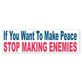 Bumper Sticker - Peace