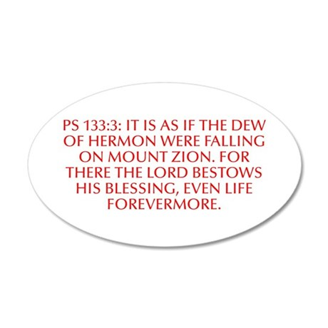 Ps 133 3 It is as if the dew of Hermon were fallin