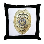 Process Server Throw Pillow