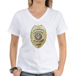 Process Server Women's V-Neck T-Shirt