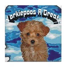 Yorkiepoos R Hot Tile Coaster!