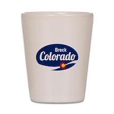Epic Breckenridge Ski Resort Colorado Shot Glass