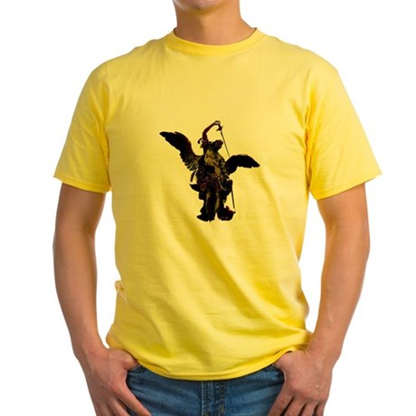 Powerful Angel - Gold Yellow T-Shirt