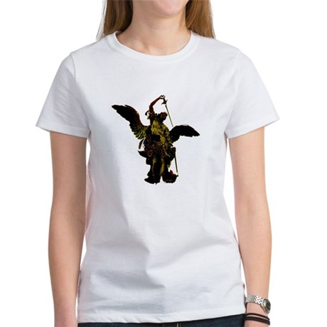 Powerful Angel - Gold Women's T-Shirt