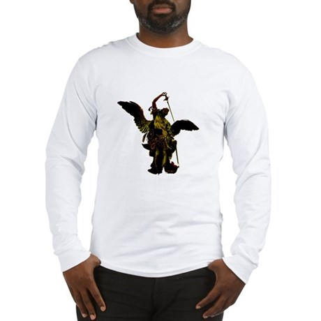 Powerful Angel - Gold Long Sleeve T-Shirt