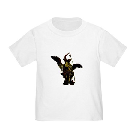 Powerful Angel - Gold Toddler T-Shirt