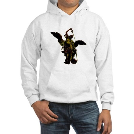 Powerful Angel - Gold Hooded Sweatshirt