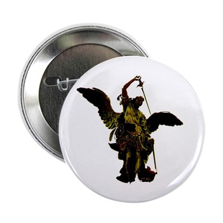"Powerful Angel - Gold 2.25"" Button (10 pack)"