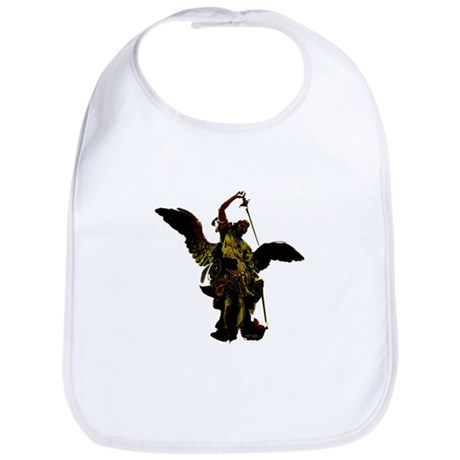 Powerful Angel - Gold Bib