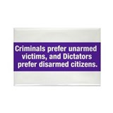 Criminals &amp; Dictators Refrigerator Magnet
