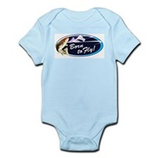 Born To Fly Infant Body Suit