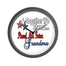 Air Force Grandma Wall Clock