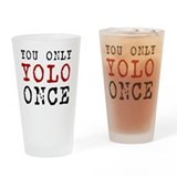 Yolo cushion Pint Glasses