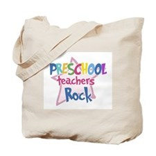 Preschool Teachers Rock - Tote Bag