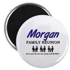 Morgan Family Reunion Magnet