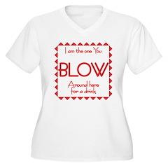 Bartenders Women's Plus Size V-Neck T-Shirt