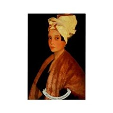 Marie Laveau Rectangle Magnet
