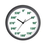 DEGREE Wall Clock